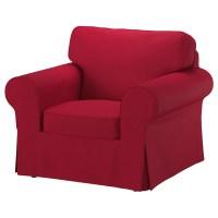 EKTORP Three-seat sofa Nordvalla red - IKEA