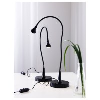 JANSJ LED work lamp Black 60 cm - IKEA