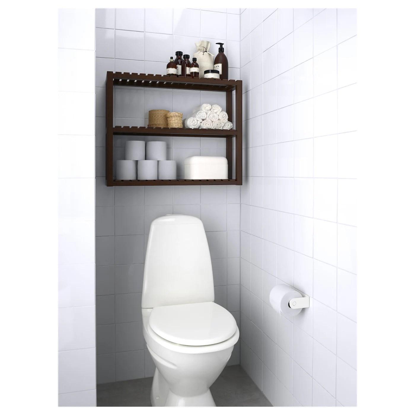 Molger Wall Shelf Dark Brown 68x54 Cm Ikea