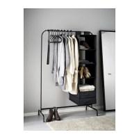 MULIG Clothes rack Black 99x46 cm - IKEA