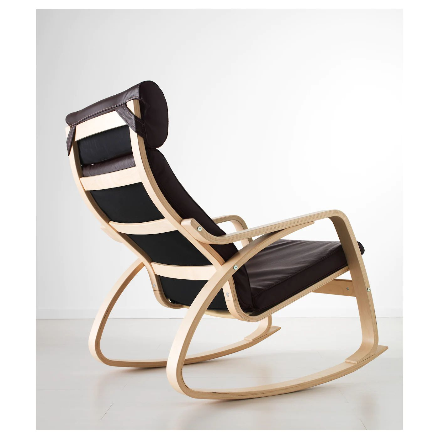 Ikea lillberg rocking chair - Ikea Poang Rocking Chair Ikea Po Ng Rocking Chair The High Back Gives Good Support Download