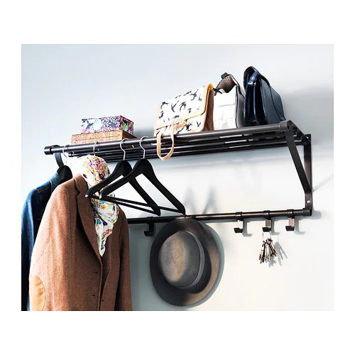 Ikea Portis Hat And Coat Rail Immaculate Condition Ebay