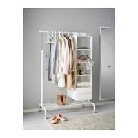 RIGGA Clothes rack White - IKEA