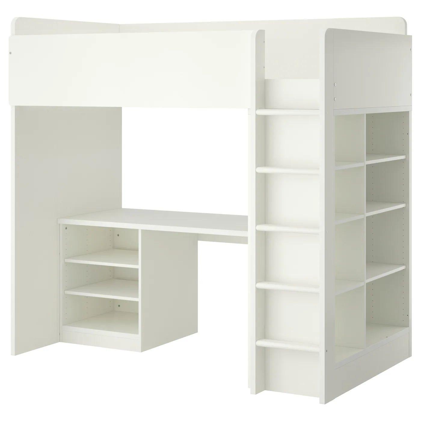 Ikea stuva loft bed combo w 2 shlvs 3 shlvs