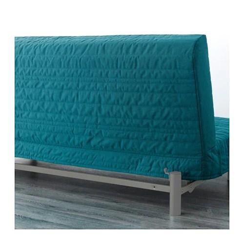 Beddinge Lovas Three Seat Sofa Bed Knisa Turquoise Ikea