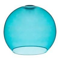 JAKOBSBYN Pendant lamp shade Turquoise - IKEA