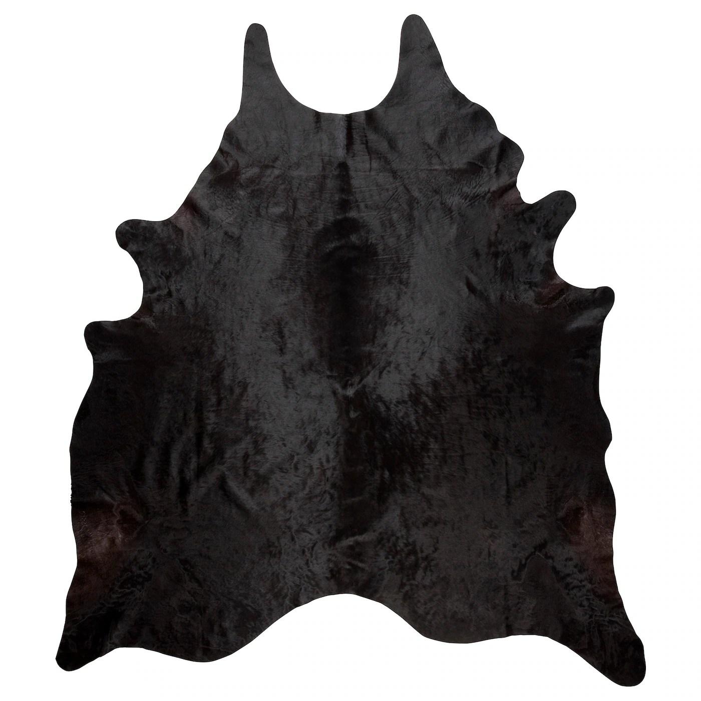 Koldby Cow Hide Black Ikea