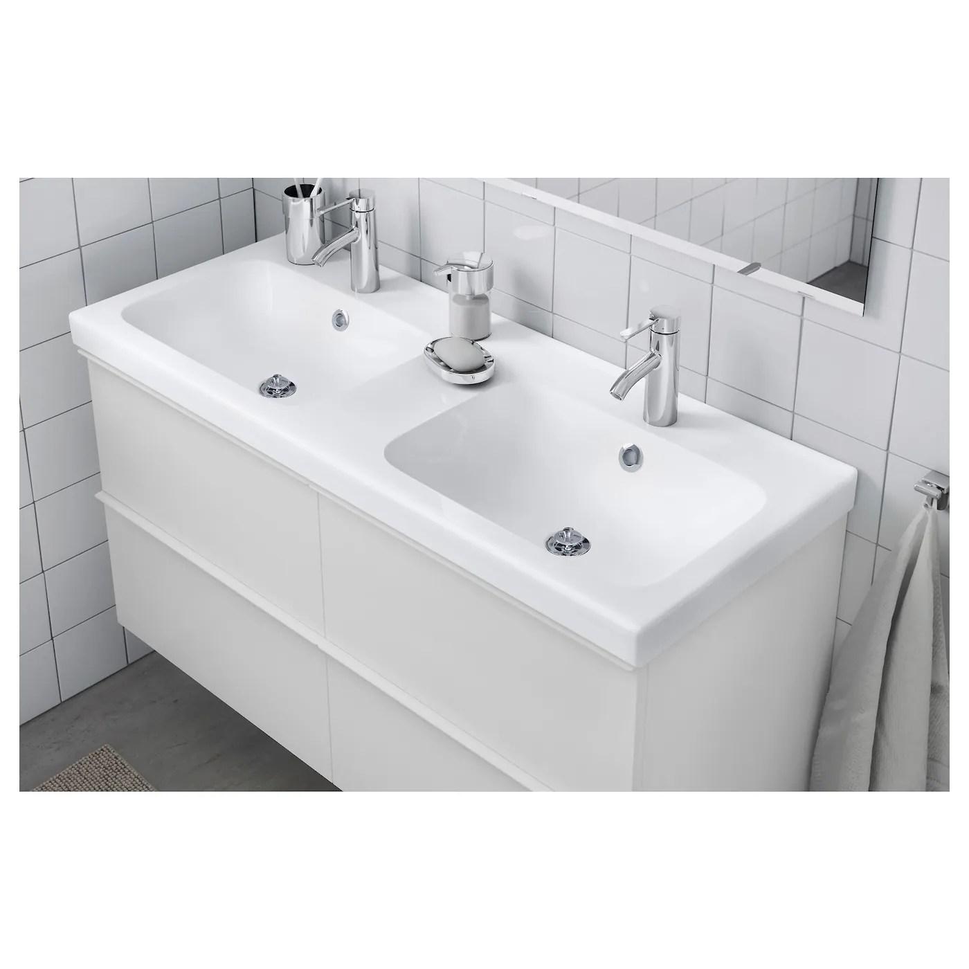 Odensvik Double Wash Basin 123 X 49 X 6 Cm Ikea