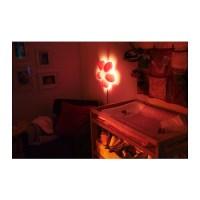 SMILA BLOMMA Wall lamp Light pink - IKEA