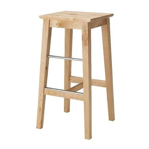 AGNE Bar stool, black