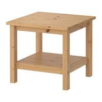 HEMNES Side table - light brown - IKEA