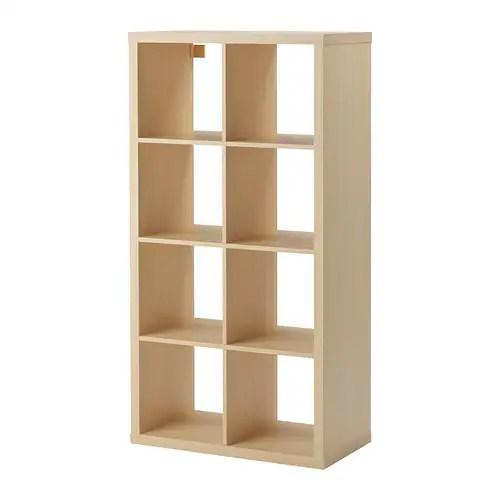 Kallax Shelving Unit Birch Effect Ikea