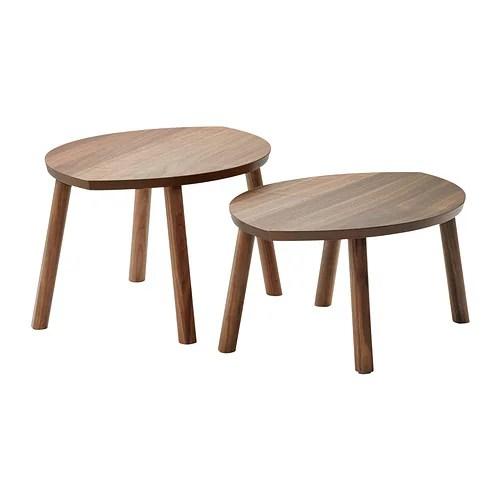 STOCKHOLM Nesting tables, set of 2