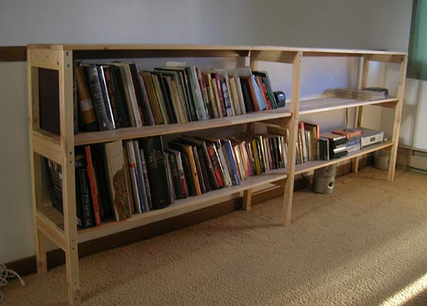Convert A Vestby Bed Frame To A Bookcase Ikea Hackers