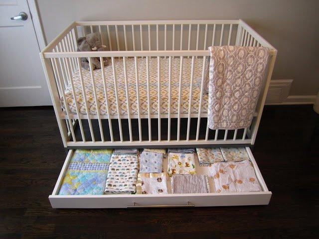 Simple Crib With Storage Ikea Hackers