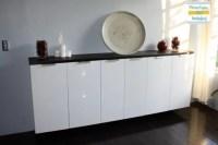 Custom bar from IKEA kitchen cabinets - IKEA Hackers ...