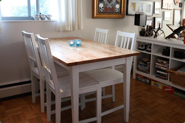 BJRKUDDEN Modern Harvest Table