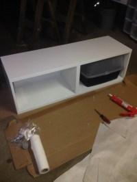 Ikea Hack - Besta Storage Cabinet/Hidden Cat Litter Boxes ...