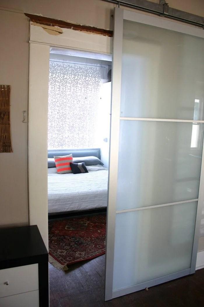 Armoire Dresser Ikea Pax Armoire Doors Get New Life as Barn Doors - IKEA Hackers - IKEA Hackers