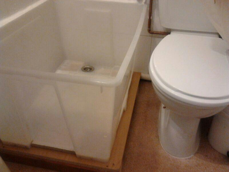 Shower Base From Ikea Samla Plastic Box Ikea Hackers