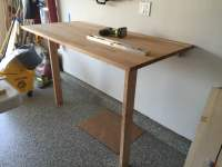 The ROCK GERTON Table Top Drop Down Workbench - IKEA Hackers