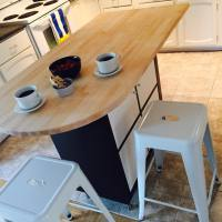 Another Expedit or Kallax Kitchen Island - IKEA Hackers ...