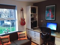 Complete workstation desk home office IKEA hack - IKEA ...