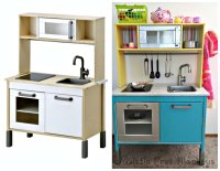 Ikea Duktig Play Kitchen Makeover - IKEA Hackers