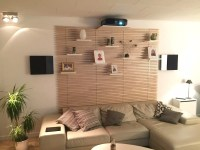 Living room home cinema: My stylish projector mount and ...