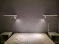 Minimalist bedside reading lamps - IKEA Hackers