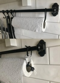 Ideas for kitchen paper towel holder | IKEA Hackers ...