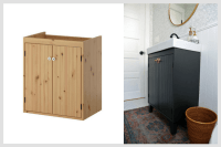 Customizing an IKEA Vanity for a Bungalow Bathroom - IKEA ...