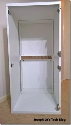 DIY Server Cabinet using IKEA parts - IKEA Hackers