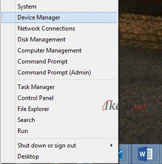 Start Menu Windows 8.1 Device Manager