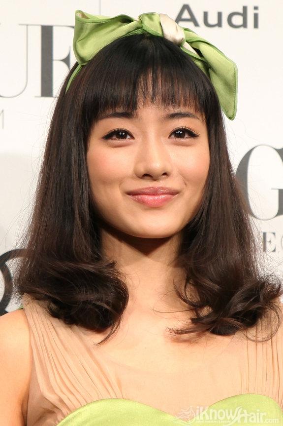 Sweet Chinese Girl Wallpaper Short And Medium Hair Styles For Asian Women Medium