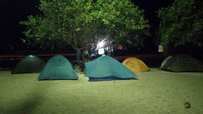Persewaan Tenda di Pari Kepulauan Seribu