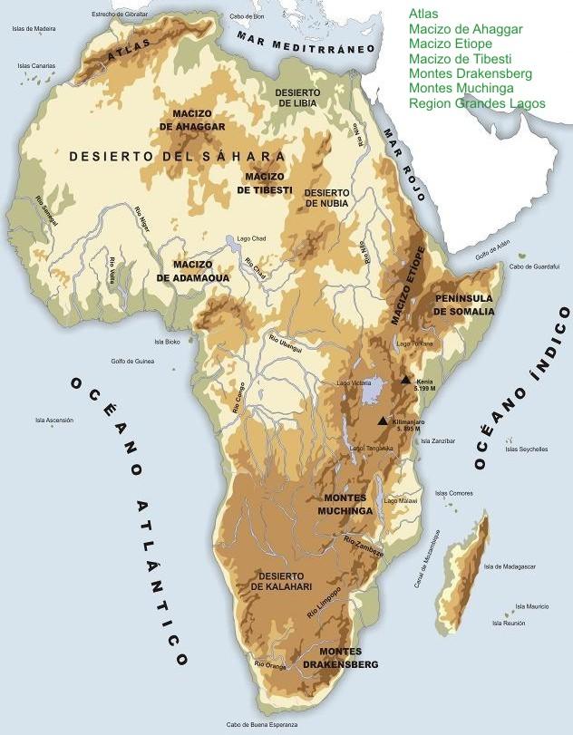 Montes de Africa