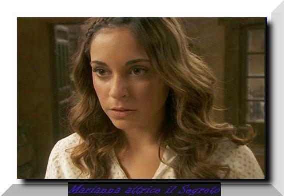 Mariana attrice del Segreto