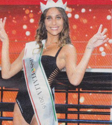 Intervista a Miss Italia 2016 Rachele Risaliti che ci racconta cosa farà ora