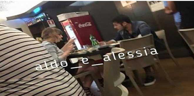 Aldo Palmeri e Alessia Cammarota a Cena insieme