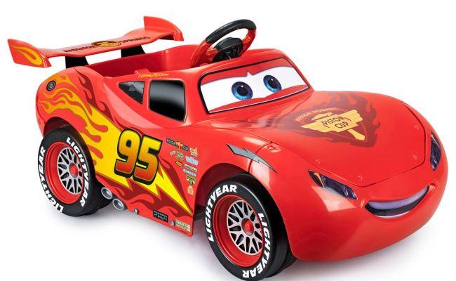Lightning Mcqueen Ride On Car Ride On Cars For Children Ileisure