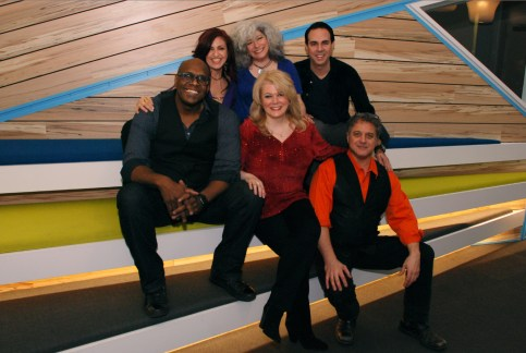 with Lorraine Ferro, Tanya Leah, Anthony Barone, Everett Bradley, and Neville L'Green