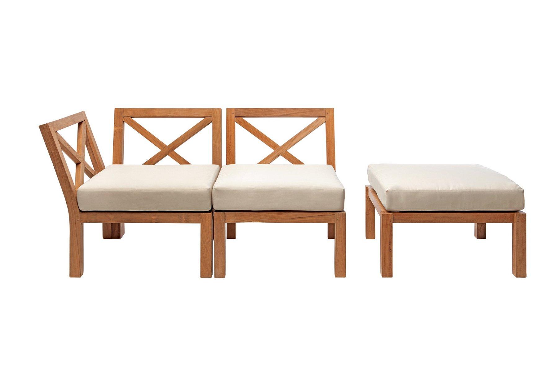 Lounge Chair Corner Unit Venezia Il Giardino Di Legno
