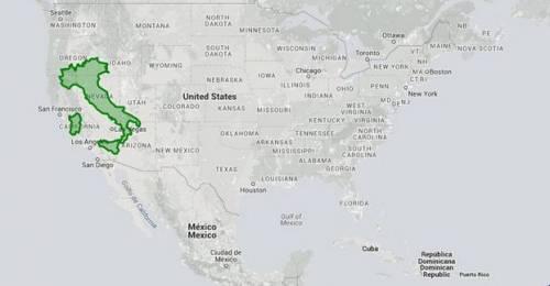Il mondo a grandezza reale la nuova mappa geografica - cartina mondo
