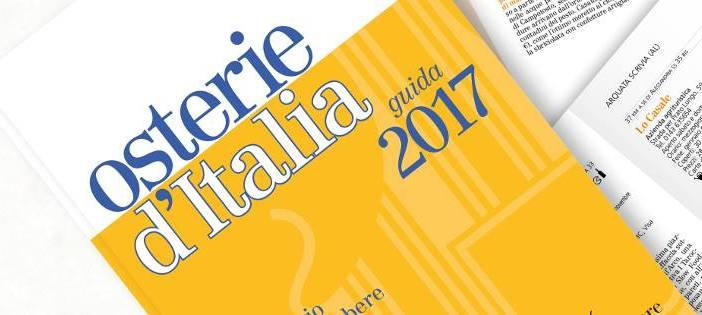 Osterie d'Italia 2017 oggi a Torino le Chiocciole