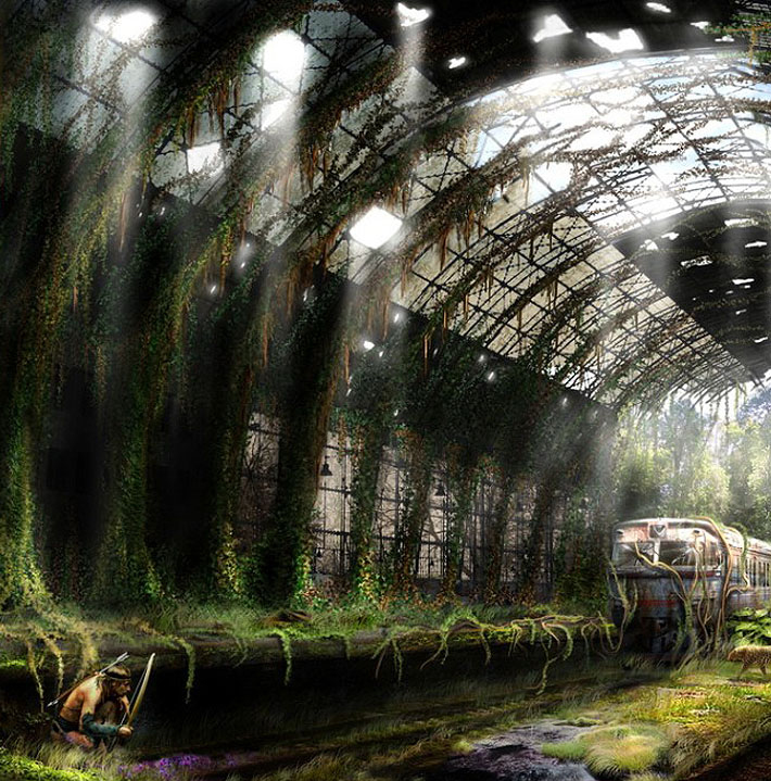 Really Cool 3d Wallpapers Life After The Apocalypse By Vladimir Manyuhin 17 Pics
