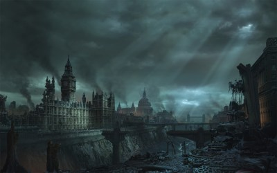Daily Wallpaper: Apocalypse in London | I Like To Waste My Time