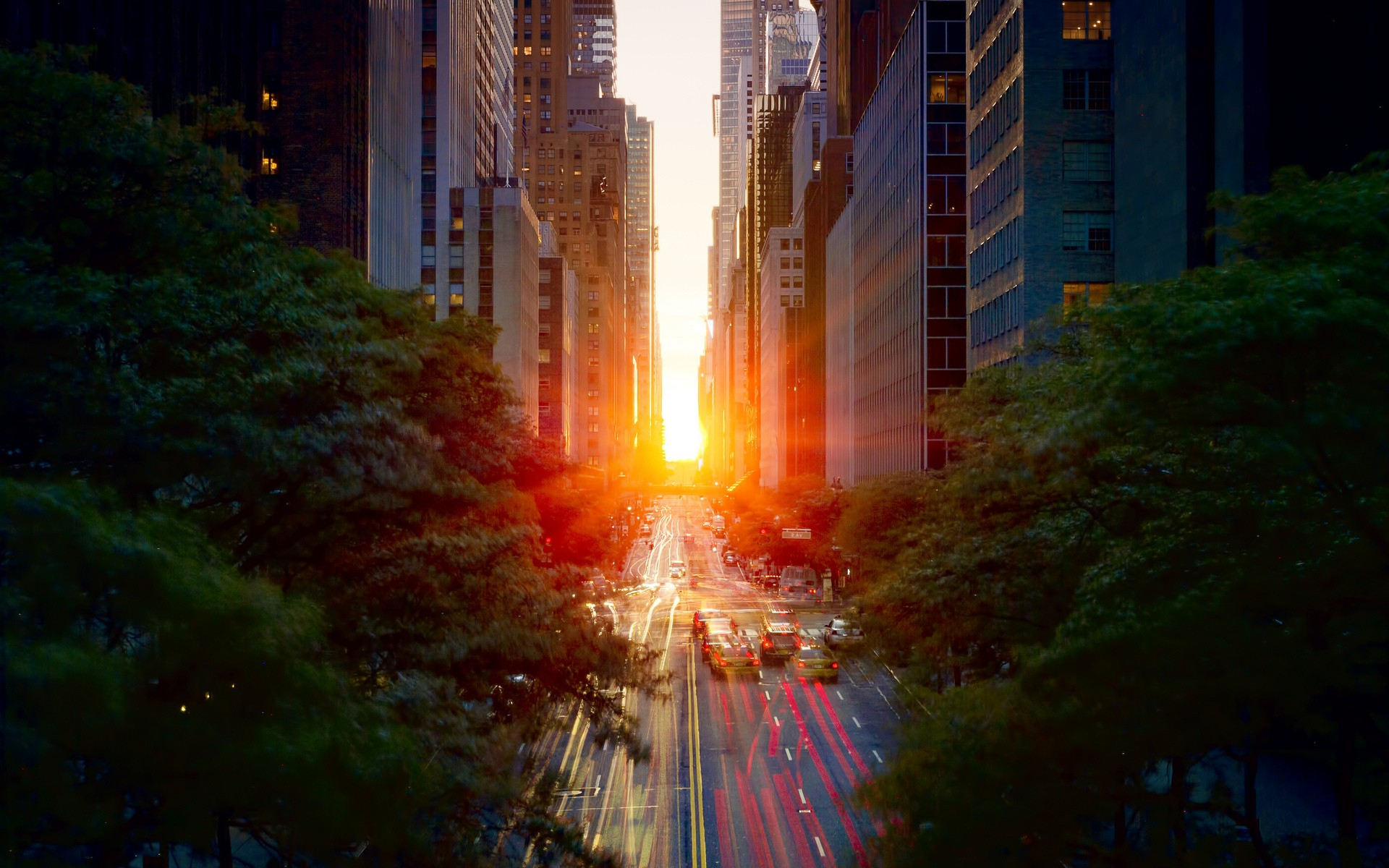 Sunset Wallpapers With Quotes Daily Wallpaper Manhattanhenge I Like To Waste My Time