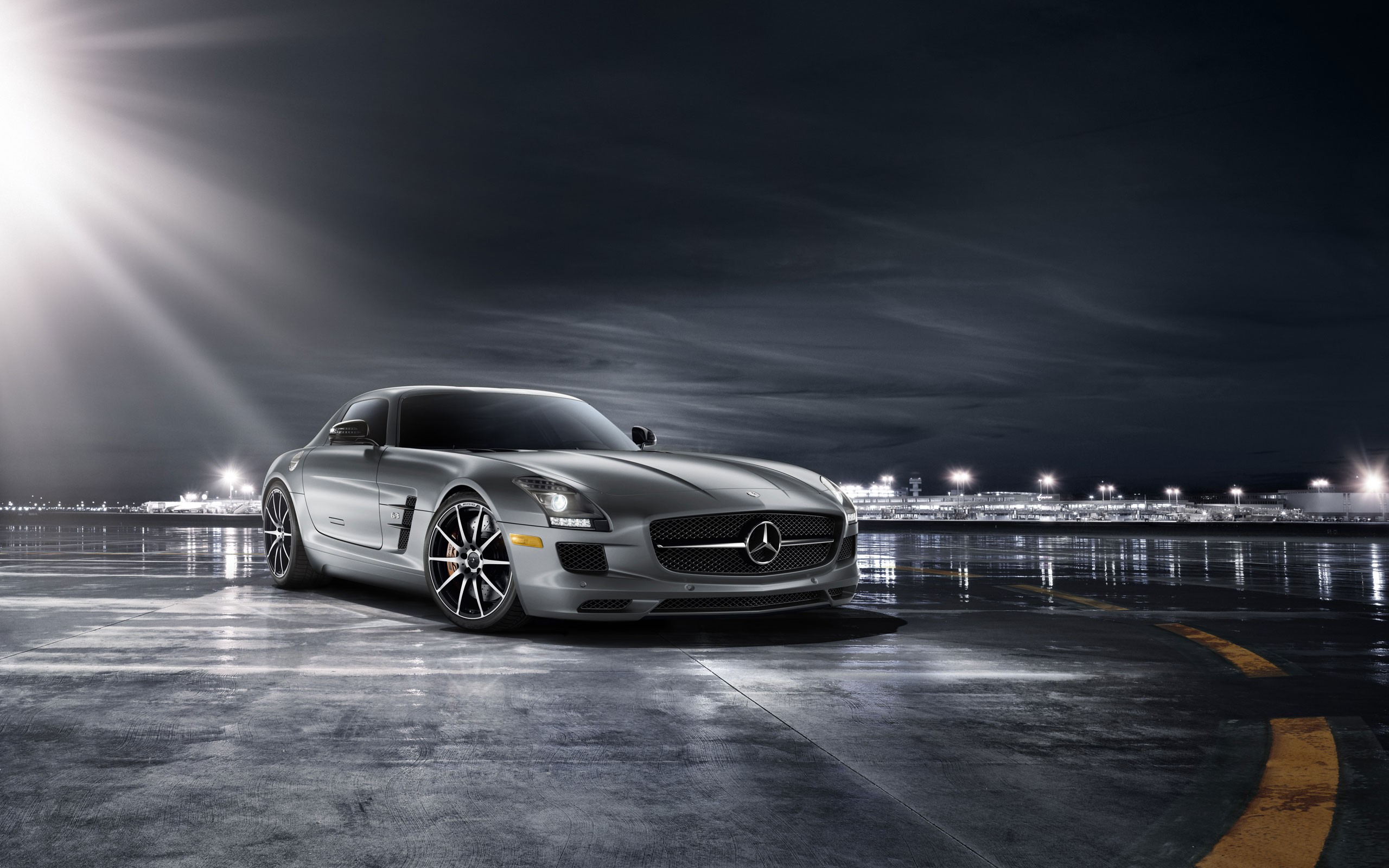 Mercedes Sports Cars Wallpapers Daily Wallpaper Mercedes Sls Amg I Like To Waste My Time