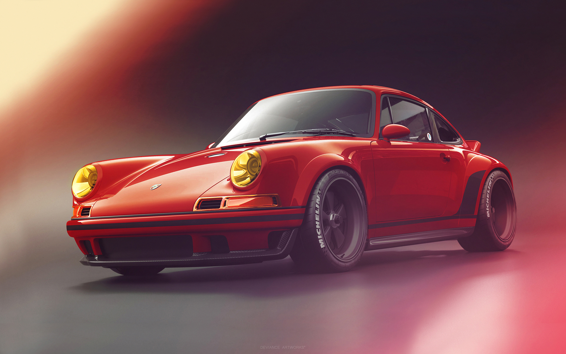 Fastest Car In The World Wallpaper Hd Daily Wallpaper Singer Porsche I Like To Waste My Time